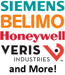 Siemens, Belimo, Honeywell, Veris, and More!