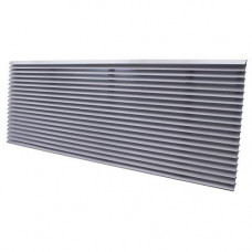 Perfect Aire 1PT-EXTG-SI PTAC Extruded Architectural Grille | 1PT-EXT-SI | SILVER